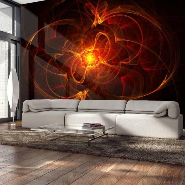 Fototapeta - Abstract fire