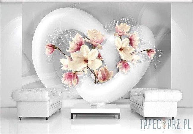 Fototapeta Abstrakcja z kwiatami 3375