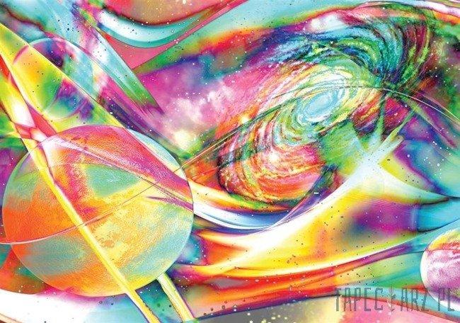 Fototapeta Abstrakcyjny kolorowy kosmos 2514