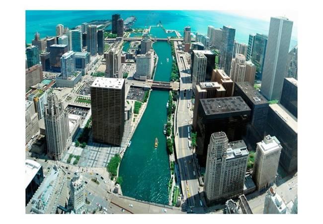 Fototapeta - Architektura miejska Chicago