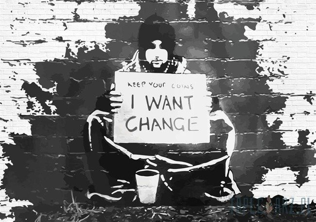 Fototapeta Banksy 2897