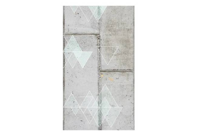 Fototapeta - Beton i trójkąty