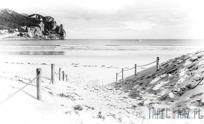 Fototapeta Czarno-biała plaża 2283