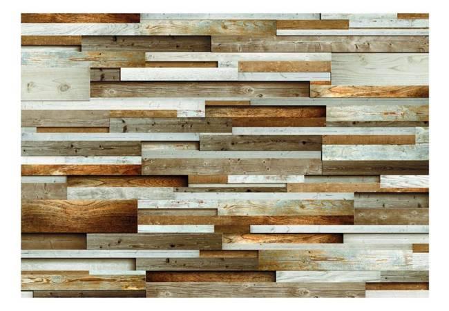 Fototapeta - Drewniany ład