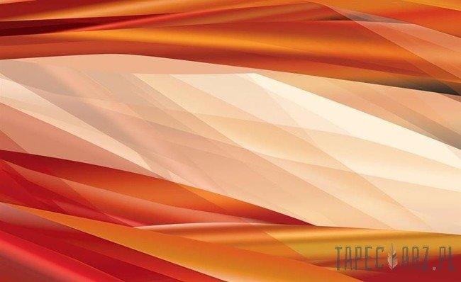 Fototapeta Energetyczne pomarańczowe pasy 567