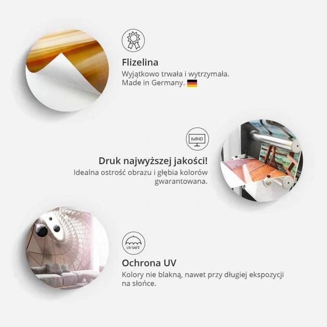 Fototapeta - Fioletowe kalie - efekt starego papieru