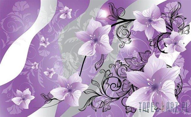 Fototapeta Fioletowe kwiaty 1235