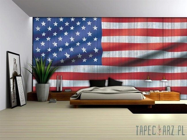 Fototapeta Flaga USA 1108