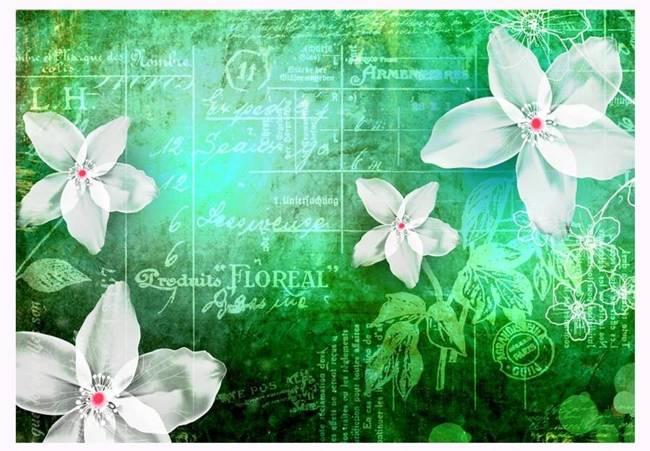 Fototapeta - Floral notes III