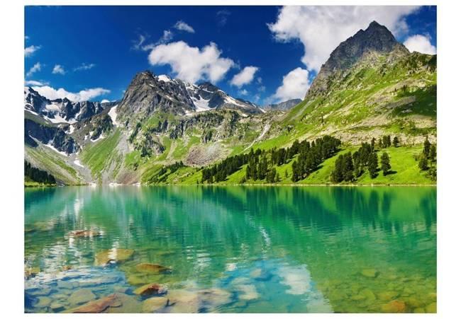 Fototapeta - Górskie jezioro