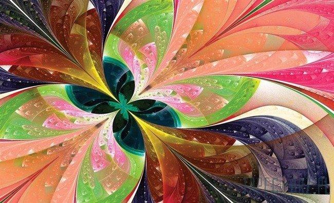Fototapeta Kolorowe abstrakcyjne wzory 647