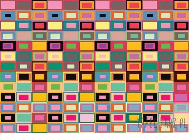 Fototapeta Kolorowe prostokąty 3672