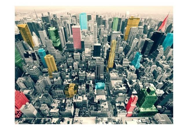 Fototapeta - Kolorowe refleksy w Nowym Jorku