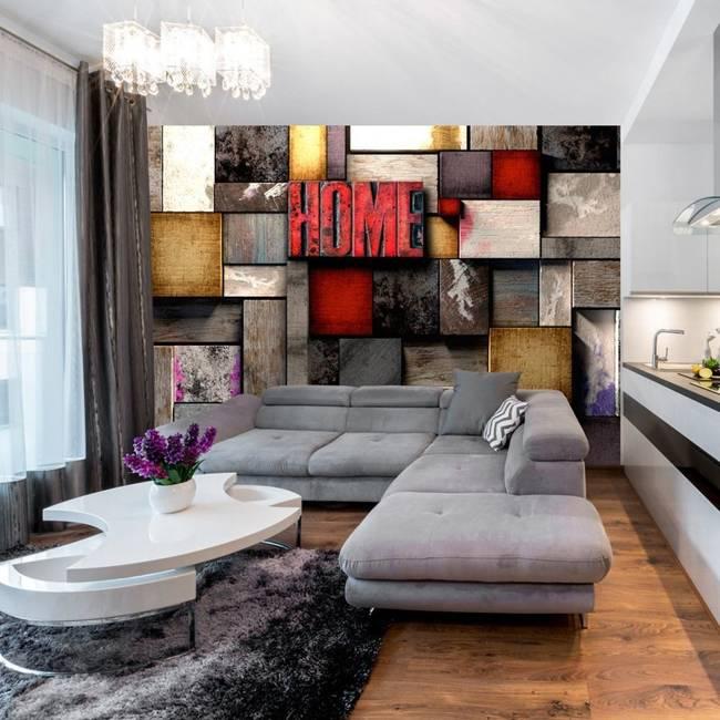 Fototapeta - Kolorowy dom