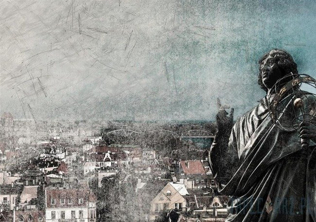 Fototapeta Kopernik - Toruń 2560