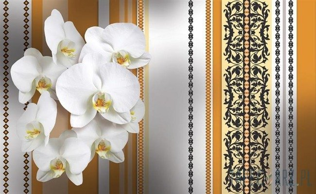 Fototapeta Kwiatowe ornamenty 1285