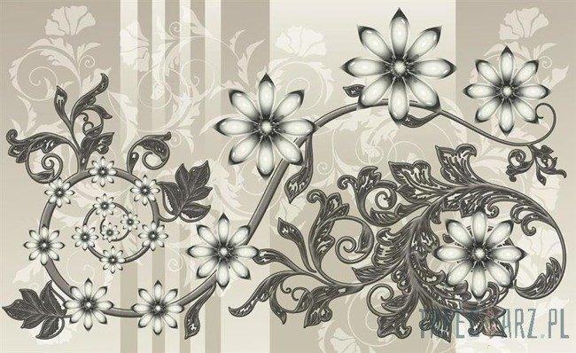 Fototapeta Kwiatowy ornament 1201