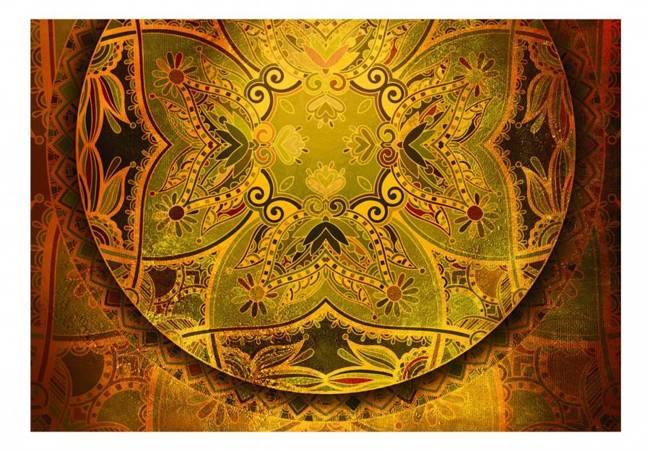 Fototapeta - Mandala: Złoty poemat