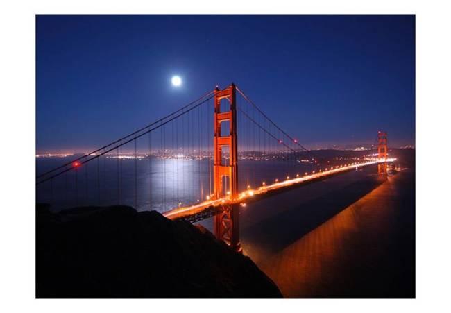 Fototapeta - Most Golden Gate nocą