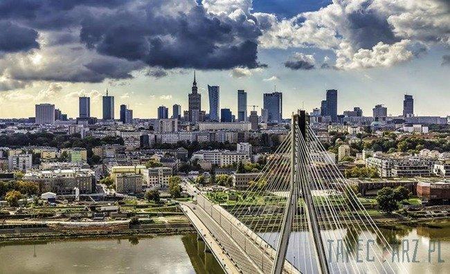 Fototapeta Most Świętokrzyski w Warszawie 1184