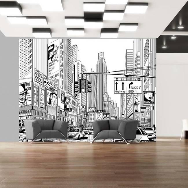 Fototapeta - Na ulicach Nowego Jorku
