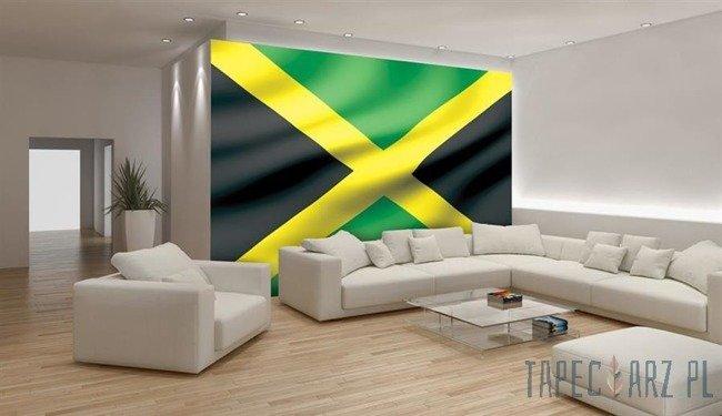 Fototapeta Powiewająca flaga Jamajki 492