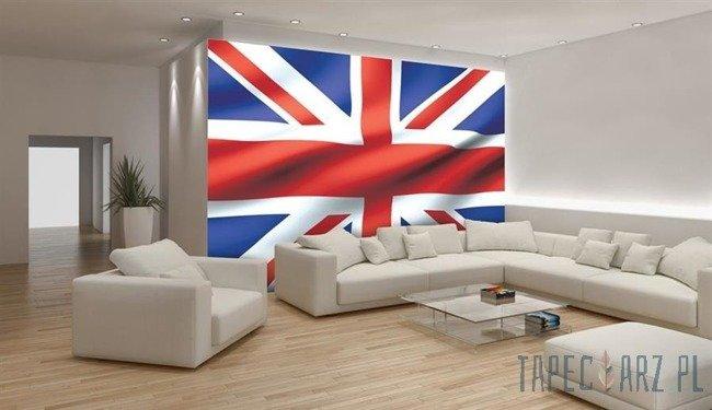 Fototapeta Powiewająca flaga Wielkiej Brytanii 486