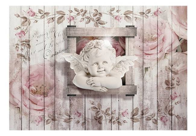 Fototapeta - Słodki mały aniołek