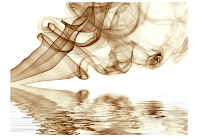 Fototapeta - Smoke curls