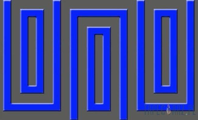 Fototapeta Szaro-niebieski wzór geometryczny 860