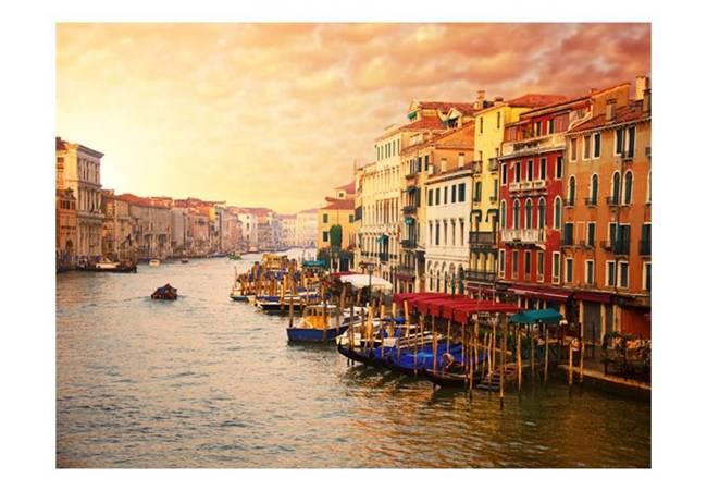 Fototapeta - Wenecja - Kolorowe miasto na wodzie