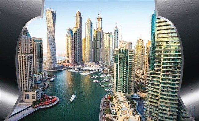 Fototapeta Wieżowce Dubaju 2201