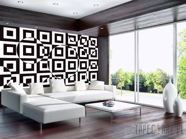 Fototapeta czarno-biała abstrakcja 3735