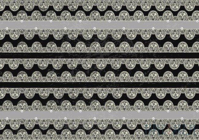 Fototapeta czarno-biały wzór 2476
