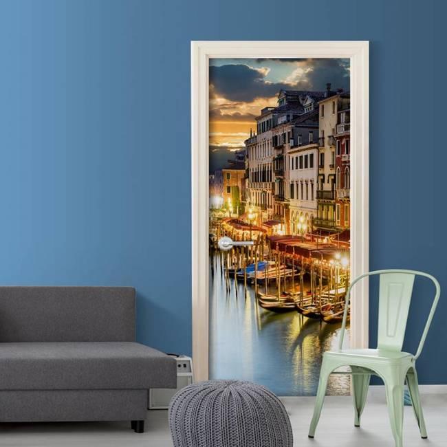 Fototapeta na drzwi - Wenecka przystań
