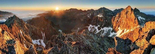 Fototapeta na flizelinie Górska panorama 10509VEE