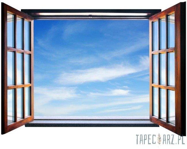 Fototapeta na flizelinie Niebo przez otwarte okno 721