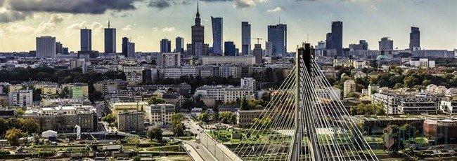 Fototapeta na flizelinie Panorama Warszawy 1499VEE