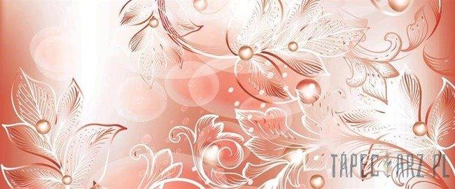 Fototapeta na flizelinie Prosty klasyczny wzór kwiatowy 557VEP