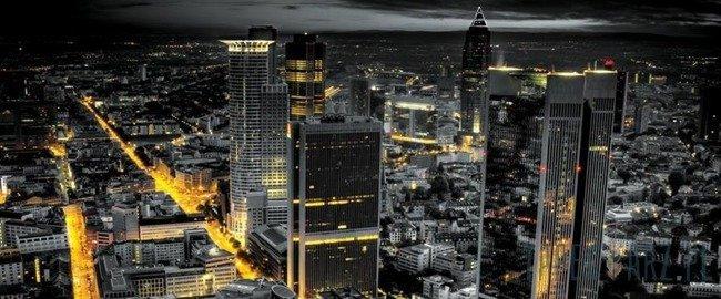 Fototapeta na flizelinie Widok na miasto z lotu ptaka 326VEP