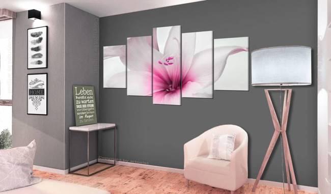 Obraz - Amarylis: Różowy powab