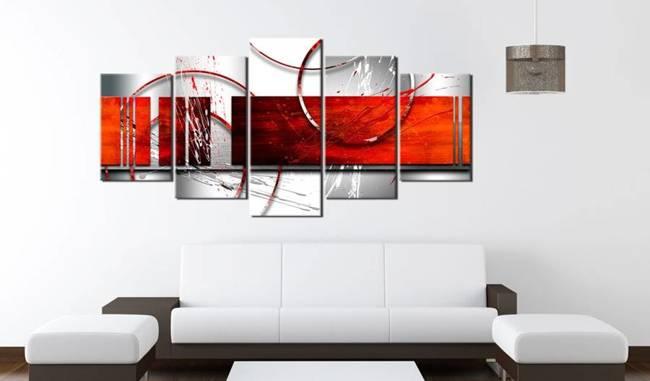 Obraz - Emfraza: czerwony motyw