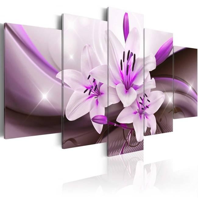 Obraz - Fioletowa lilia pustynna