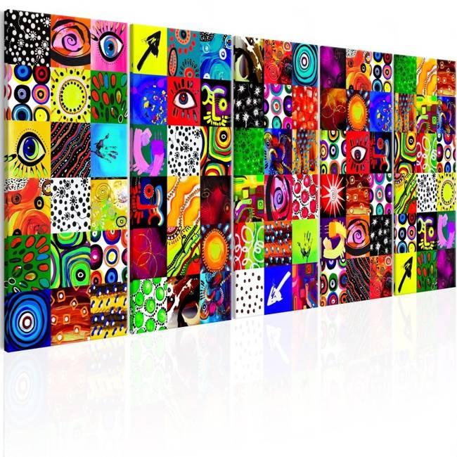 Obraz - Kolorowa abstrakcja