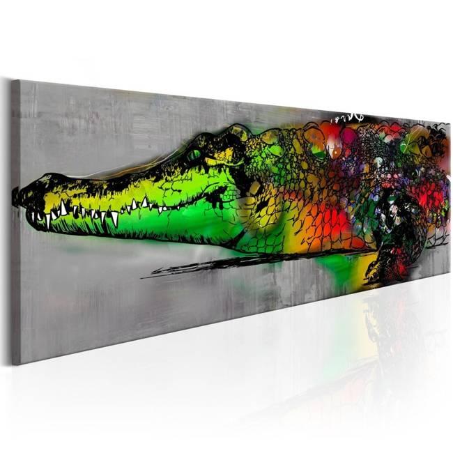 Obraz - Kolorowa bestia