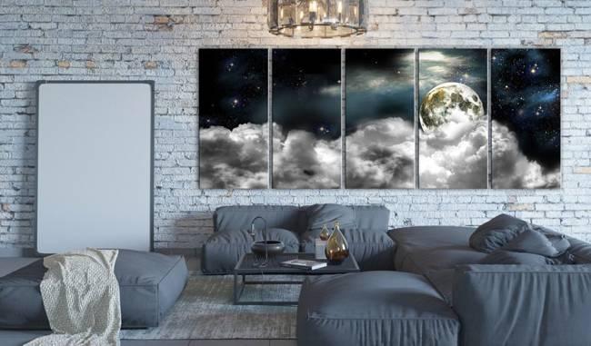 Obraz - Księżyc w chmurach I