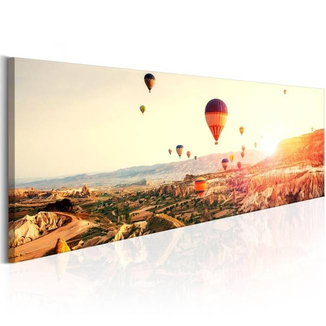 Obraz - Lot balonem