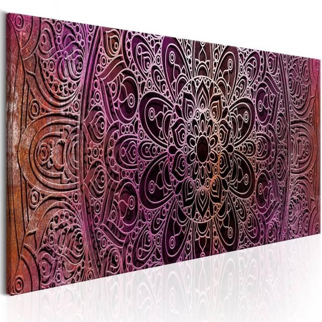 Obraz - Mandala: Ametystowa energia