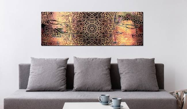 Obraz - Mandala: Słoneczna poezja