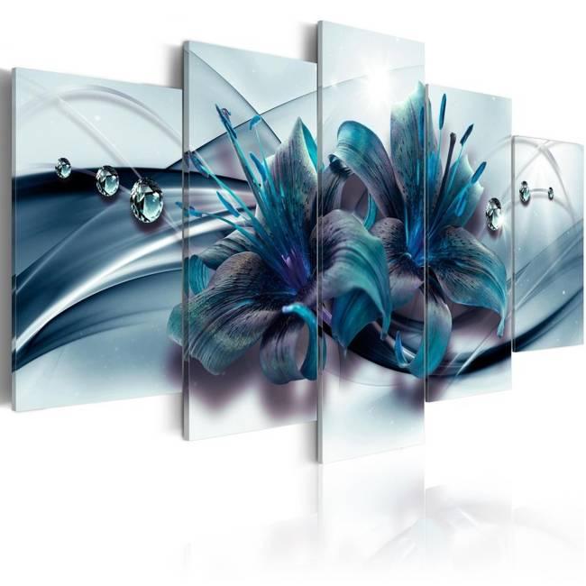 Obraz - Niebieska lilia
